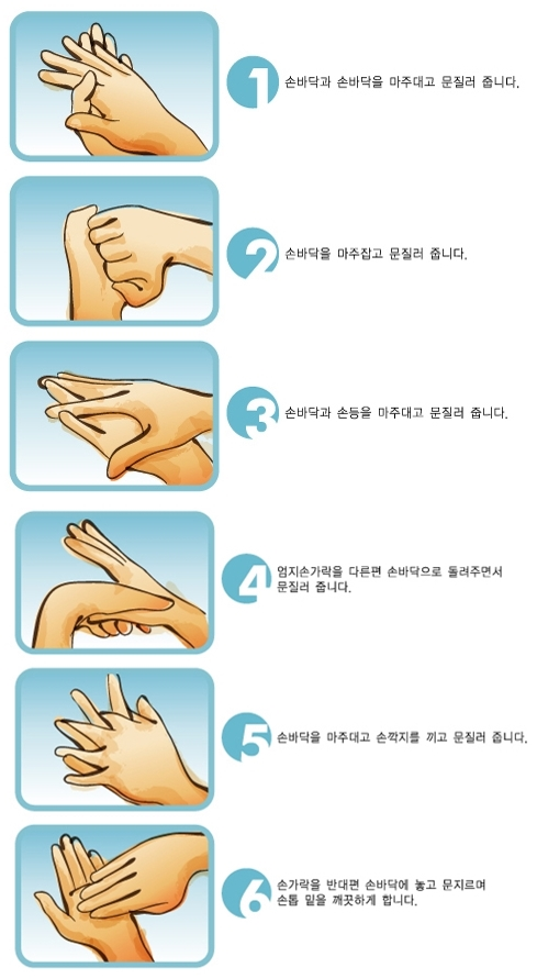 손 씻는 방법
