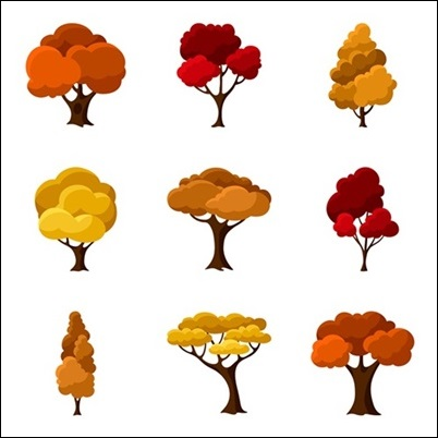 여러가지 나무 그림
