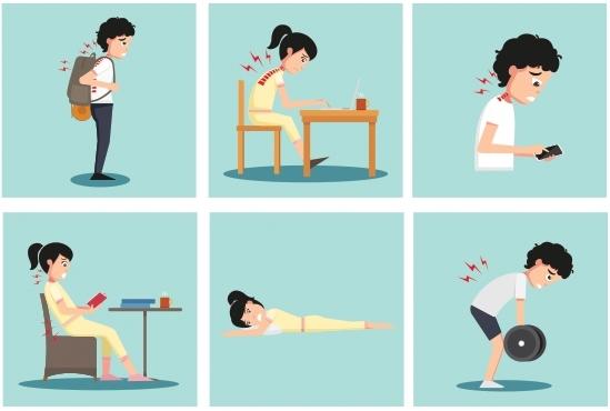 척추 이상 증상 6가지_나누리병원