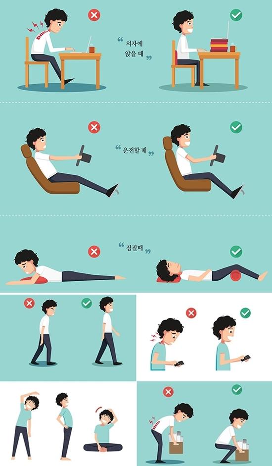척추건강을 지키는 바른 습관_나누리병원