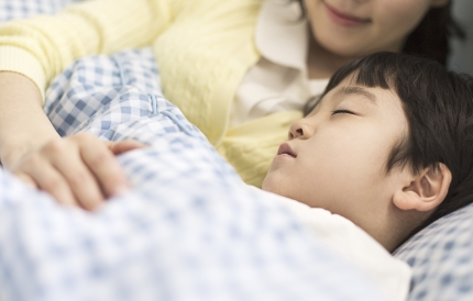 자고 있는 아이