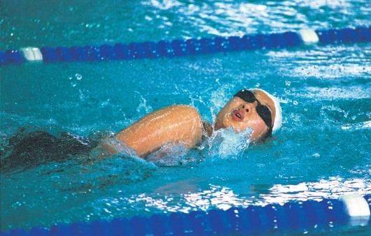 수영의 효과, 조심해야 할 부상과 예방법