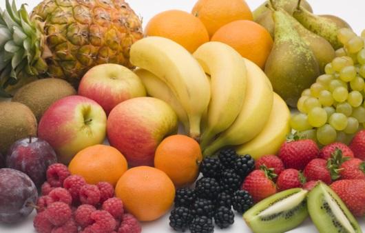 각종 과일