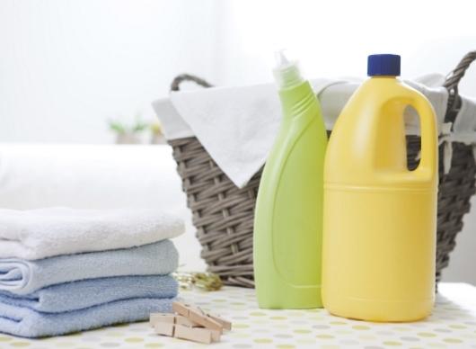 세탁물과 세탁세제