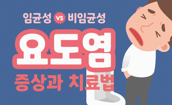 임균성(임질) vs 비임균성 요도염 증상과 치료법