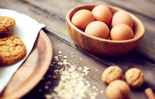 호두와 계란