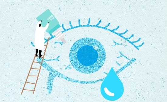 찬바람 불면 심해지는 안구건조증! 인공눈물, 안약 등 점안제 사용법
