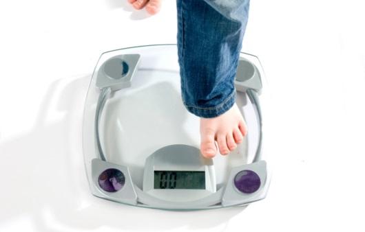 체중 측정
