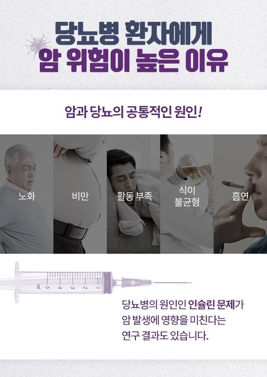 당뇨가 있으면 암도 잘 걸릴까?