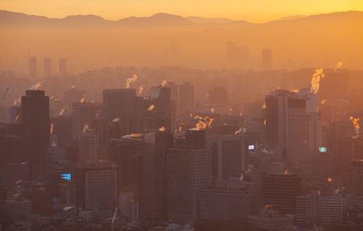 대기오염 도시