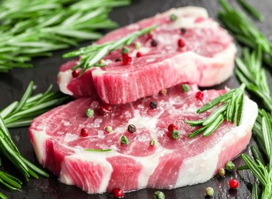 밑간된 고기
