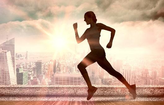 달리기를 하는 모습
