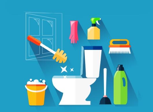 변기 청소