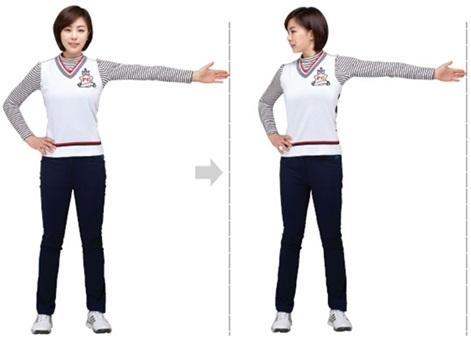 골프 스윙을 위한 운동