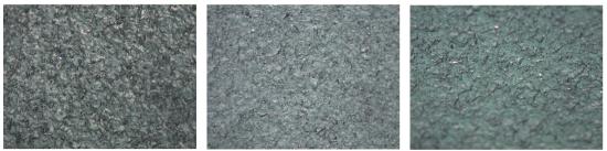마이크로 텍스쳐 가슴보형물 표면 현미경 사진