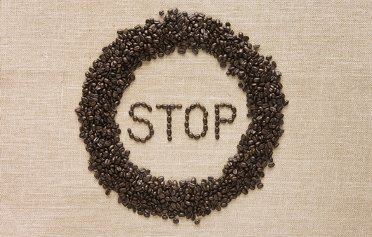 커피 금지