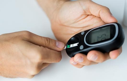 당뇨병 혈당 체크