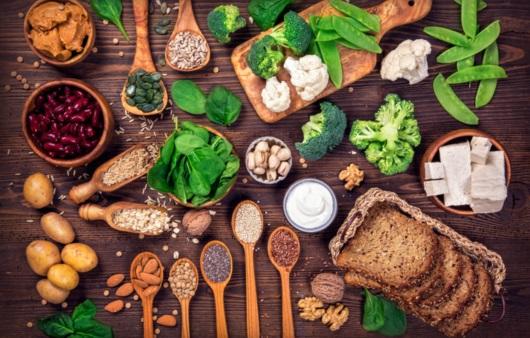 건강 증진을 돕는 식품