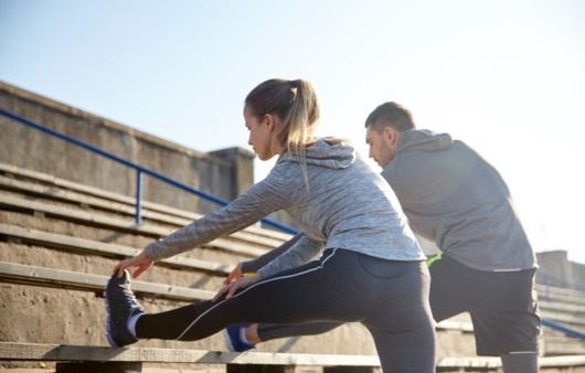 운동하는 성인