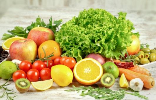 각종 과일 및 채소