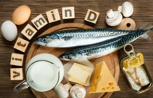 비타민 D를 함유한 식품