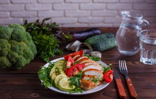 당뇨병 환자를 위한 채소 위주 식단