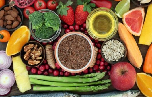 각종 과일과 채소 등 식품