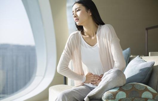 생리통이 심한 여성