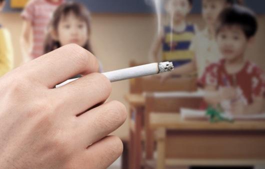 어린이와 흡연