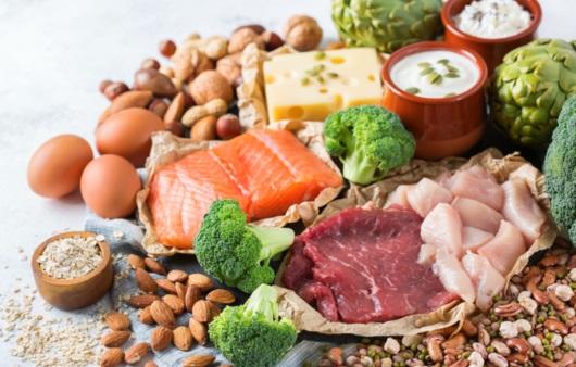 다양한 식품