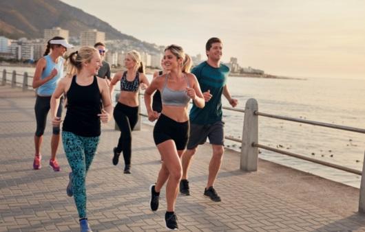 달리는 사람들